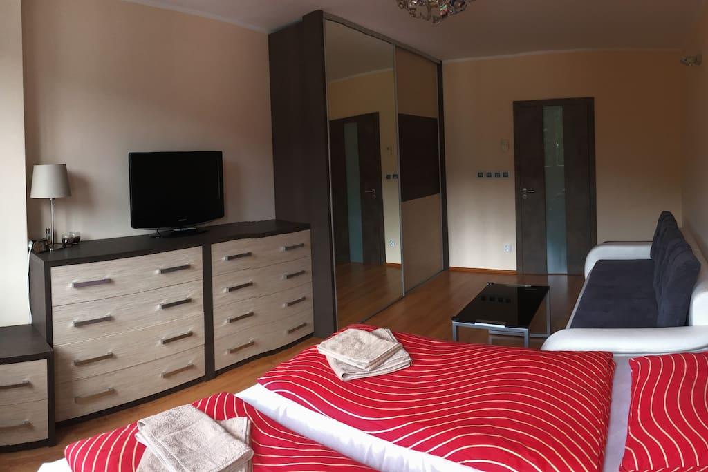 Ložnice I/ obývací pokoj