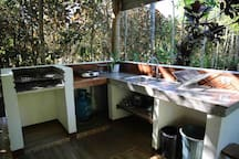 Outdoor Kitchen for your enjoyment.