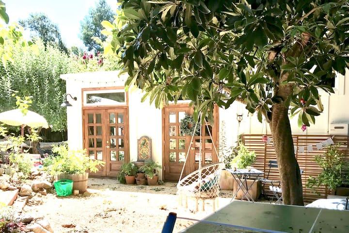 Sonoma Boho Garden Studio