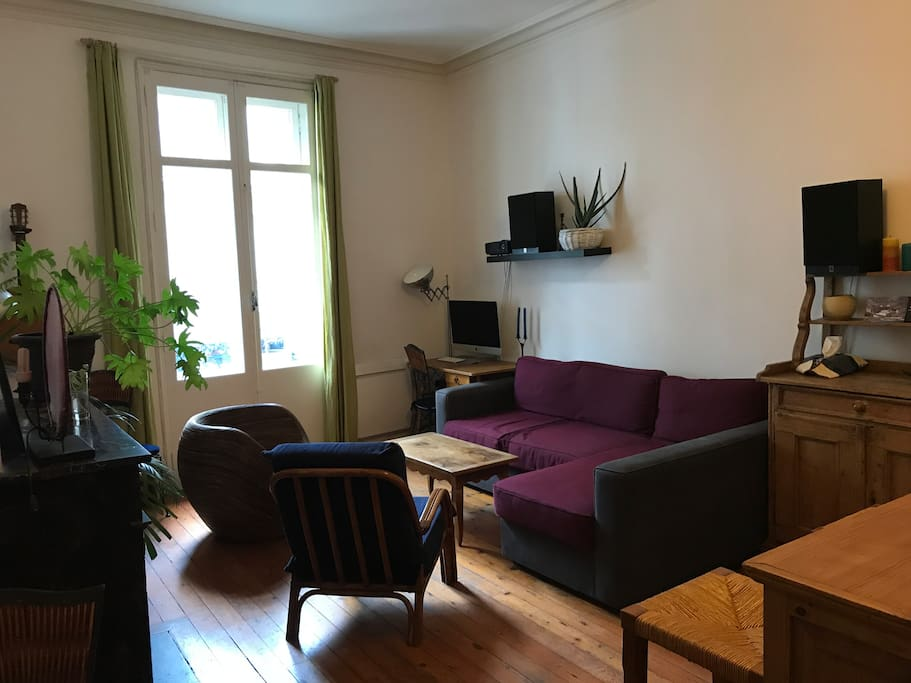 Grand t3 au c ur du centre ville appartements louer for Appartement bordeaux centre ville location