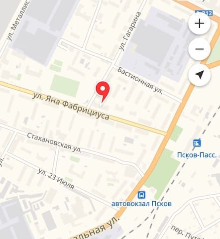 Квартира в 3 минутах от ж/д вокзала и автовокзала