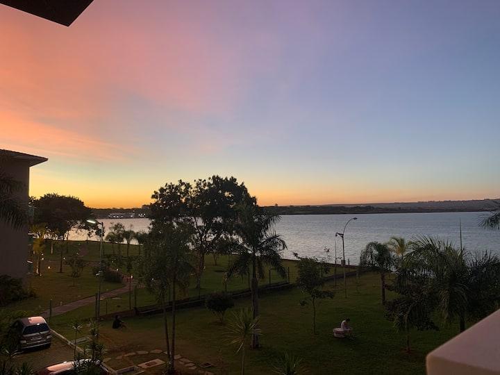 Flat Life Resort, vista MARAVILHOSA