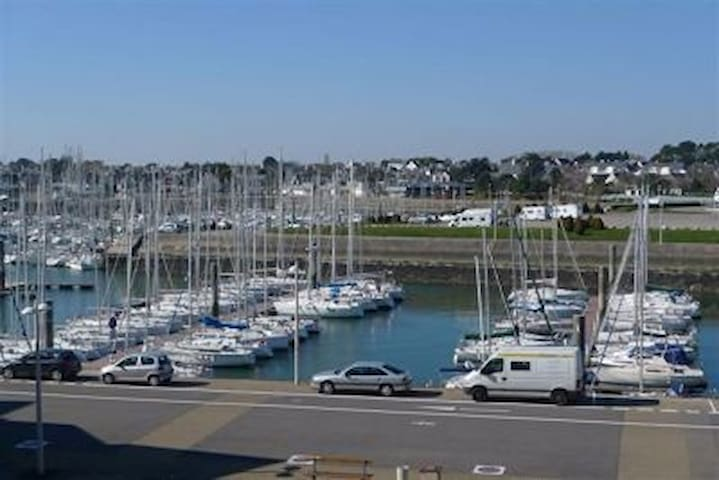 Appartement Arzon vue sur le port du Crouesty
