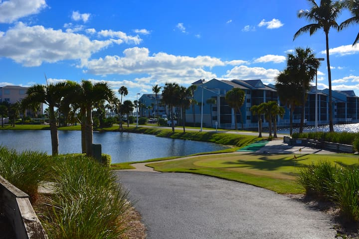Great One Bedroom Condo walking distance to Beach
