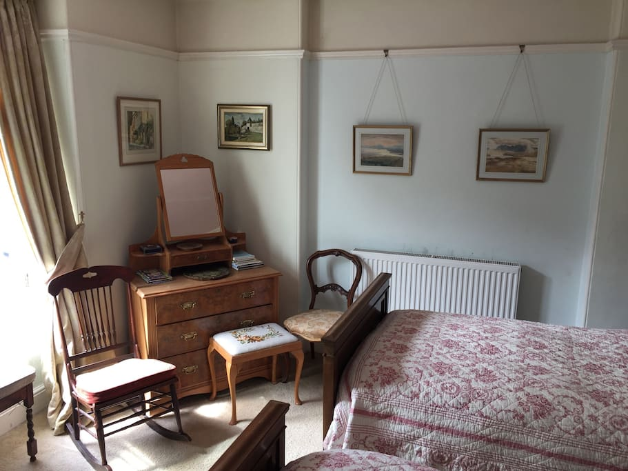 Family furniture and paintings