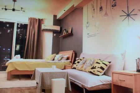 精致北欧风江景公寓 - 宜蘭市 - Appartement