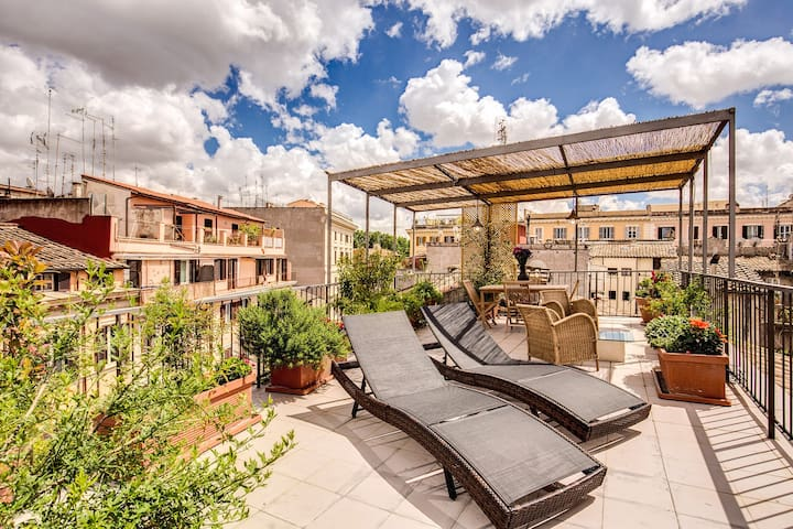Trastevere Attic with private terrace