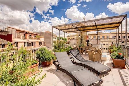 Trastevere Attic with private terrace - Roma