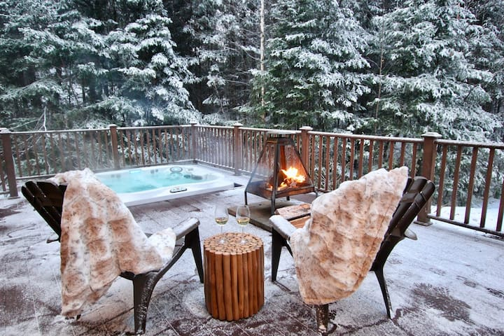 Clean & Safe ❤️Ski in / Ski out & Spa - Tremblant area