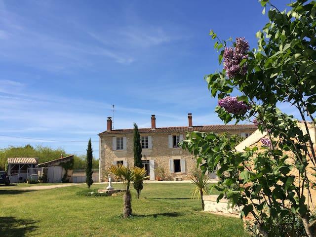 Chambres d'hôtes cosy 20mn sud Bordeaux à Illats - Illats - Bed & Breakfast