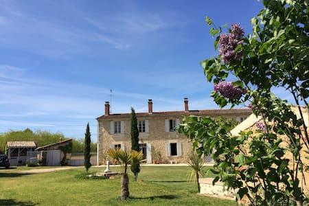 Chambres d'hôtes cosy 20mn sud Bordeaux à Illats - Illats - ที่พักพร้อมอาหารเช้า