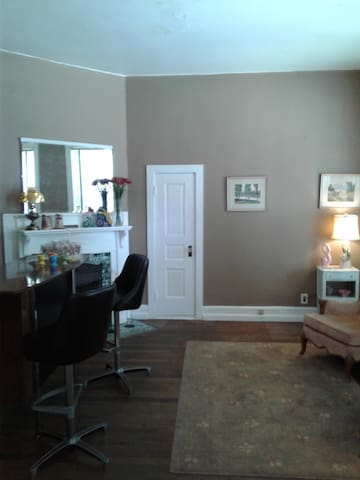 front parlor with bar