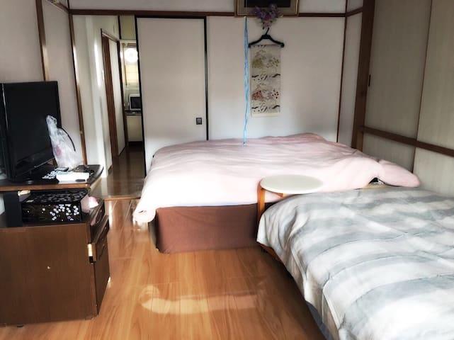 #60 Ise / Shima / Kashikojima 502 Free parking!! - Shima-shi - Leilighet