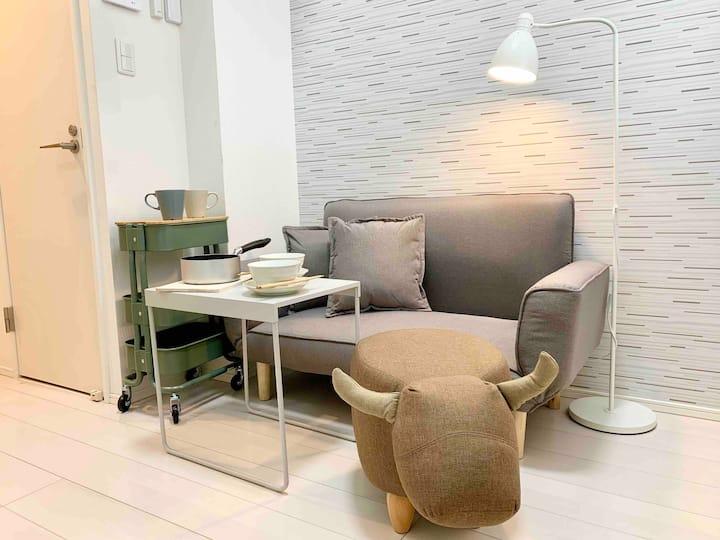 Mini Studio with loft, SKYTREE/Asakusa 10mins walk