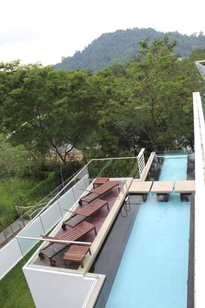 Hillside Bungalow with Private Pool @ Ampang KL