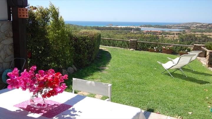 Villa Marea con spettacolare vista mare