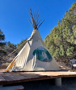 ★Rustic Tipi - Channel your Native Roots!