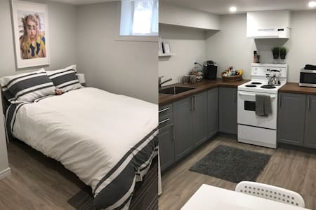 New! Clean Cute Private Unit Royal York/Queensway!