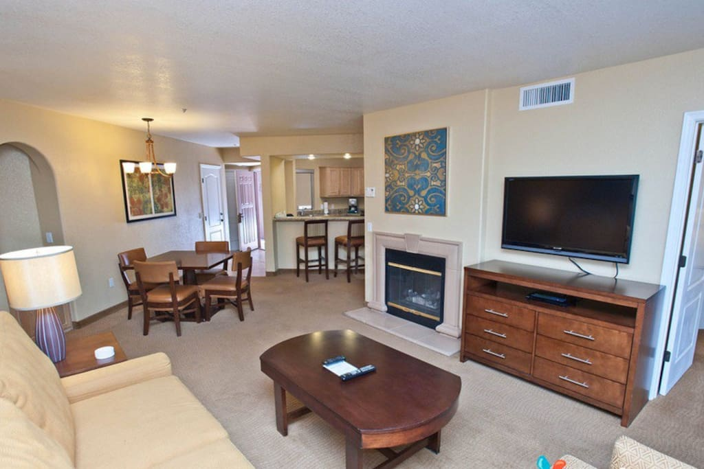 1 Bedroom Lioving Room. We offer Studio, One, Two and Three Bedroom Villas.  Plus 4 Heated Pools & 6 Hot Tubs. Voted Top 5 Best Places to Stay in Sedona. Sedona Vacation Rental
