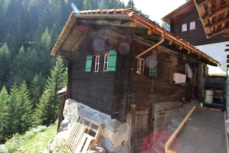 Holiday Home in Binntal with Parking, Heating & Mountain Views