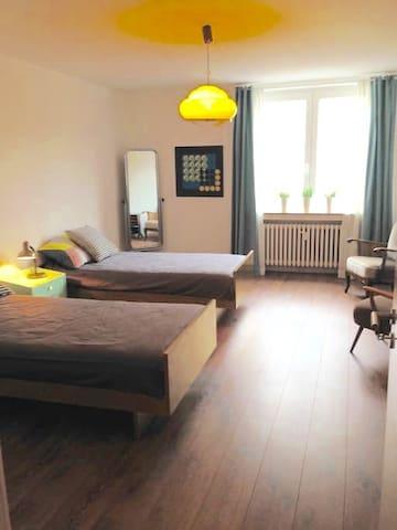 25sqm Private room near city centre - Düsseldorf - 아파트