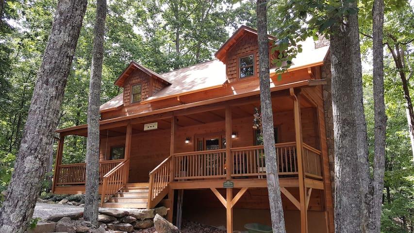 Three Bears Cabin - Sautee Nacoochee - Houten huisje