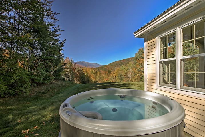 NEW! 2BR Jackson Home w/Hot Tub in White Mountains