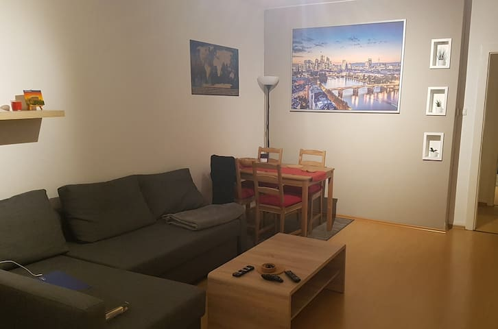 Spacious Room in the Heart of Frankfurt