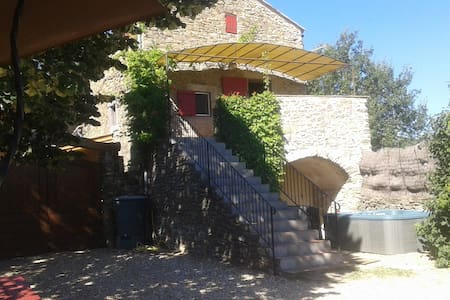 Holiday cottage with sauna and spa - Saint-Brès - Talo