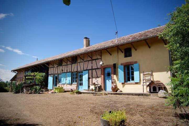 Unieke Bressaanse Boerderij - La Chapelle Thècle  - Huis