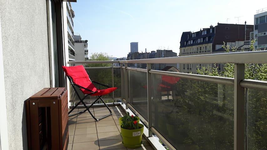 Joli cocon très lumineux, idéal pour visiter Paris - Paris - Apartment
