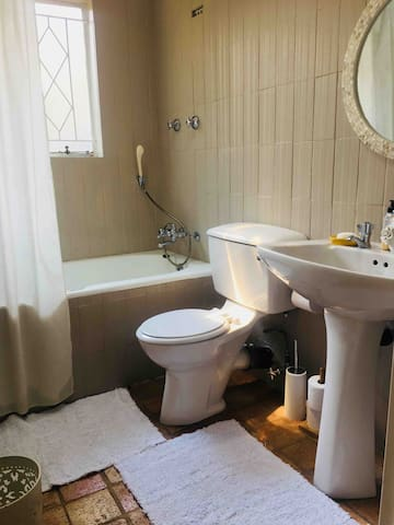 Toilet, bath and shower