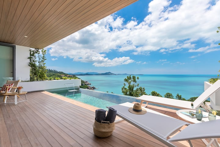 Experience Samui in style with this seaviews villa