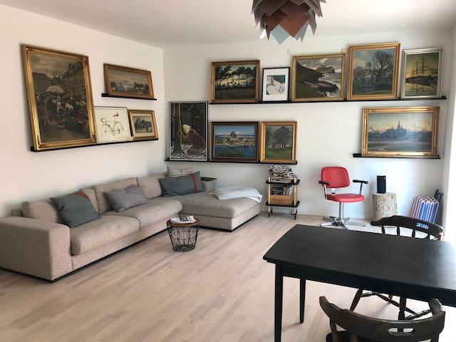 Big apartment, private terrace