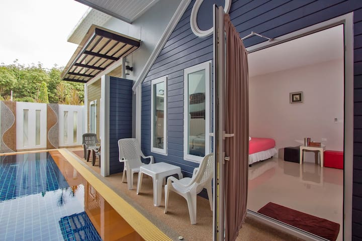 Maikhao Home Garden Pool Side Room 4Pax