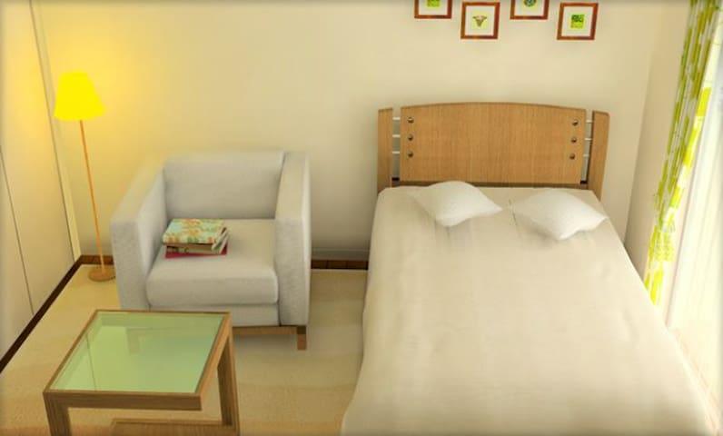 静岡駅徒歩圏内!清潔感のある個室です!! - Aoi Ward, Shizuoka - Apartament