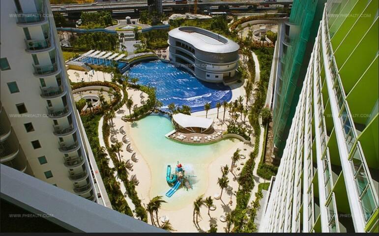 Cozy 1br cityview,Azure Residences - ทากุก