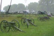 Gettysburg Battlefield is nearby