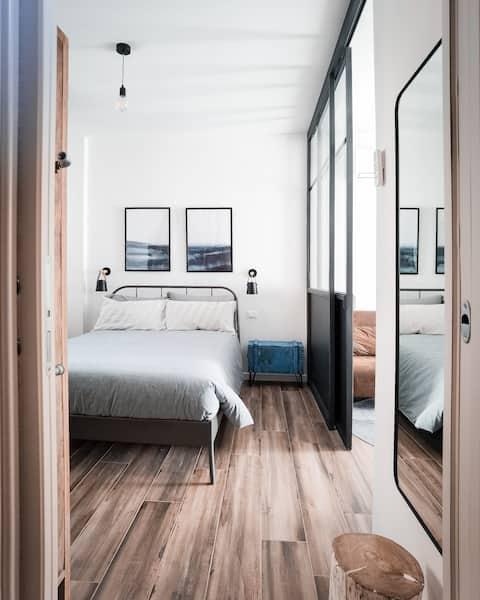 Appartamento esclusivo, cortile e ingresso privato