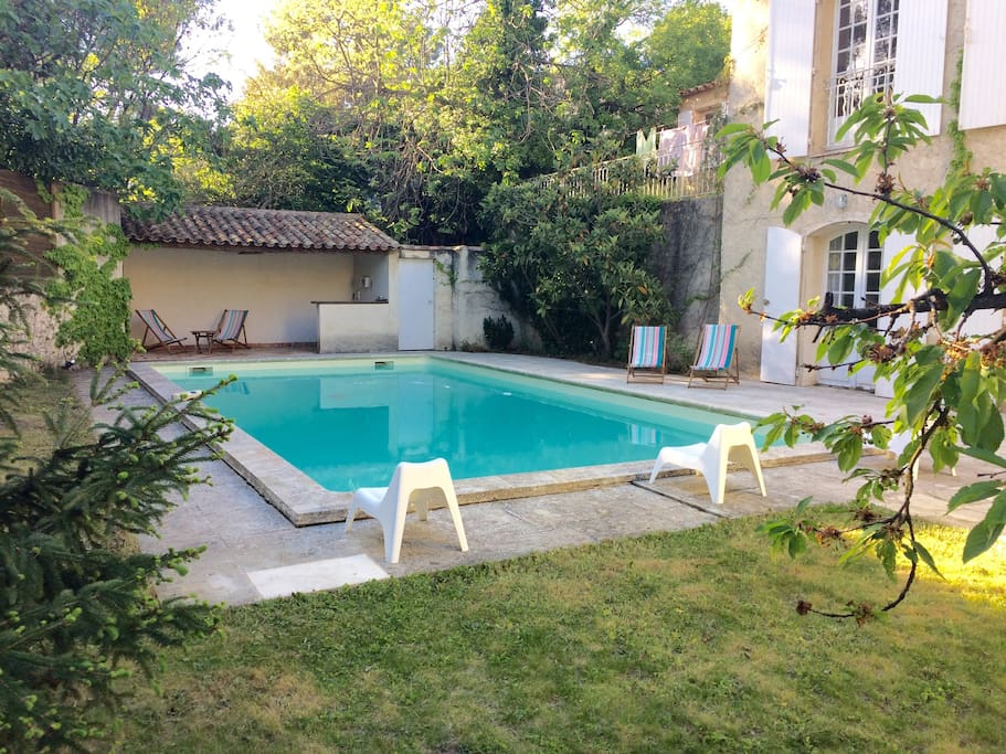 maison piscine au calme aix en provence houses for rent