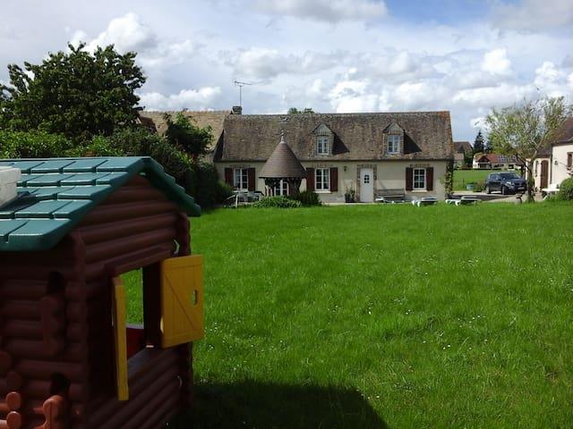 maison Herolibu - Villeneuve-la-Dondagre - บ้าน