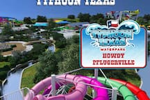 15 minutes away from the new waterpark!