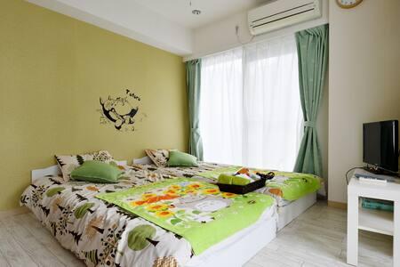 ③4minOsaka!Totoro room!! - Osaka-shi - Appartement