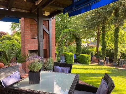 Atraktívny byt s terasou a výhľadom do záhrady