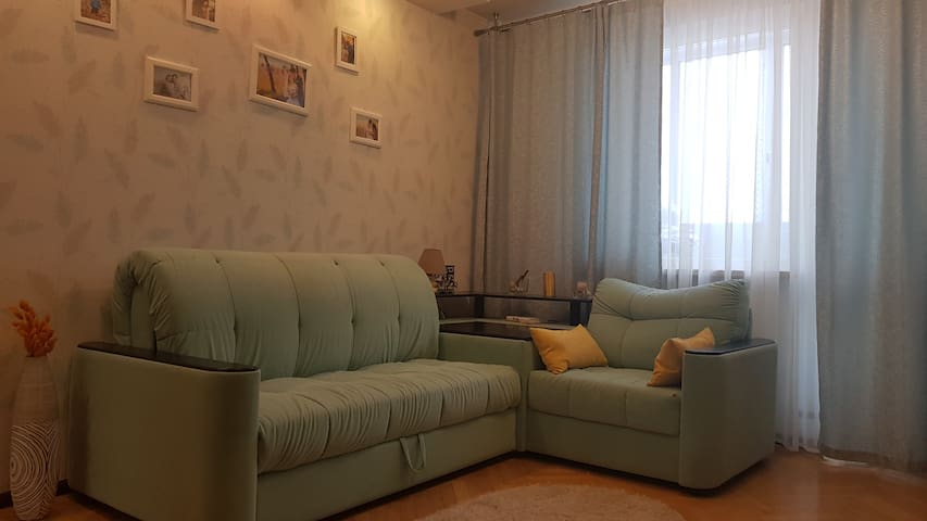 Cozy 2-room appartment 20 minutes from Luzhniki
