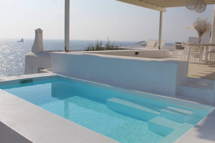 Thea Villas 3, Breathtaking Sea view, private pool