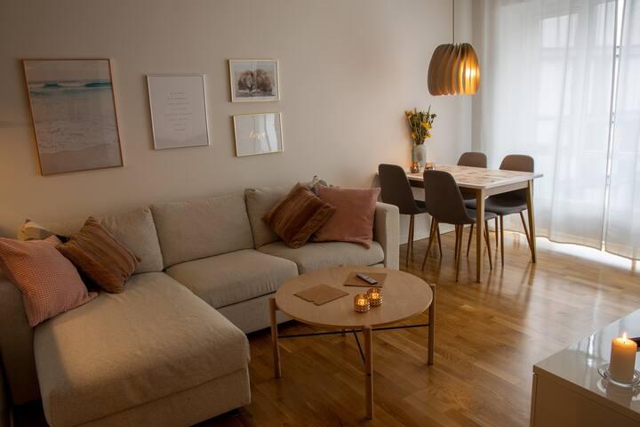 ❤️ Luxury Apartment Aalborg City - Fast WiFi