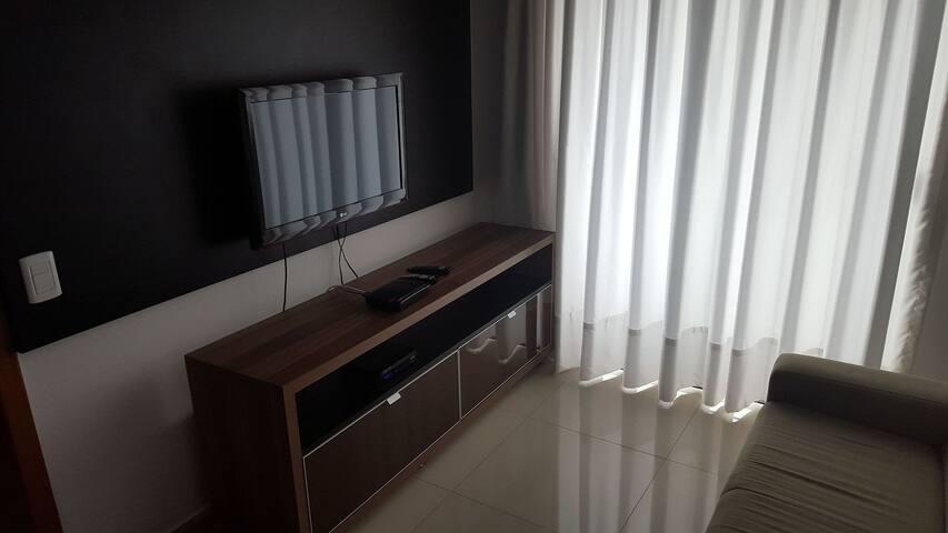 Apartamento bonito e confortável no Alto da Glória,