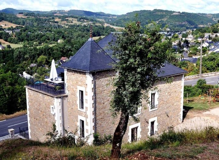 Gîte de la Vallée du Lot et aux portes de l'Aubrac