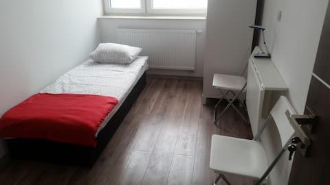 Hostel Biała Podlaska. Pokój 1 osobowy